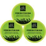 3-Pack D:fi Extreme Hold Styling Cream 75g