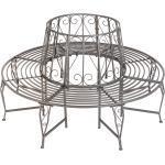 360° Trädbänk av stål - antracit