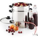 Applebee Ång-juicepress Elektrisk 1500W Ø25cm 8 Liter Rostfritt stål