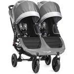 Baby Jogger Stad Mini GT dubbel barnvagn stål grå