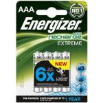 Batteri Energizer Recharge Extreme AAA, 4/fp