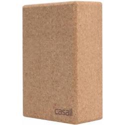 Casall Yoga block, Naturlig kork