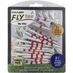 Champ Myhite Flytee - White/Röd Combo Pack 50-83mm + 44mm