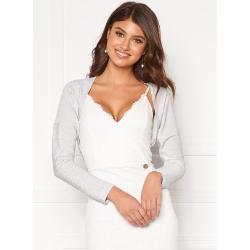 Chiara Forthi Dolce Sparkling Bolero White / Silver 38