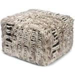 Classic Collection Raccoon sittpuff natural