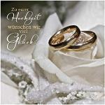 Depesche 5326.038 gratulationskort med 3D-motiv, bröllop, flera färger