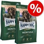 Ekonomipack: 2 x stora påsar Happy Dog Supreme till lågt pris - Mini New Zeeland (2 x 4 kg)