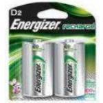 Energizer Batteri Laddbar ENERGIZER D HR20 2/FP