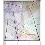Estoralis F-3132 Basic Rollo ljus transparent digital, polyester, flerfärgad, 110 x 175 cm