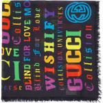 Gucci Kids Logomania sjal - Svart