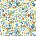 Herbarium Bomull/Lin Vit Tyg