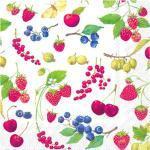IHR - Servett Fruits of Summer 33x33 cm