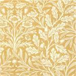 IHR - Servett Guld/Cream 33x33 cm