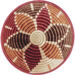 Inom- och utomhusmatta rund Kenya Flerfärgad ø 160 cm round