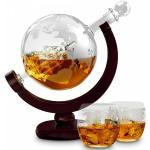 Jordglob Whiskey Karaff Set