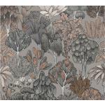 Jungle Tapet Blommig Impression Ovävd - AS Creation