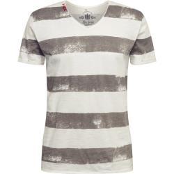 Key Largo T-shirt 'MT AIRFLIGHT' silvergrå / off-white