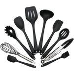 Köksredskap Set i silikon- 10 olika delar