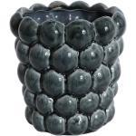 Kruka Big Bouble H16 cm - Blå (Glansig)