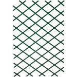 Nature Trädgårdsspaljé 100x300 cm PVC grön