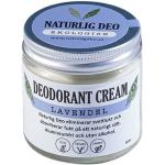 Naturlig Deo - Ekologisk deodorant cream Lavendel, 60ml