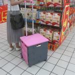 Shopping Trolly - Rosa shoppingvagn