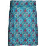 Skhoop Frida Knee Skirt Dam Kjol Blå S