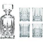 Spiegelau & Nachtmann 0098196-0 Highland Whisky-Set, Karaff med 4 Glas