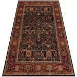 Ullmatta KASHQAI 4348 500 ram, orientalisk rödvin / grön 80x160 cm