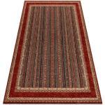 Ullmatta KASHQAI 4357 300 ram, orientalisk grön / rödvin 67x130 cm