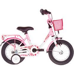 """Vermont Girly 12"""" Flickor pink/vit 12"""" (12"""") 2021 Barncyklar 12-18''"""