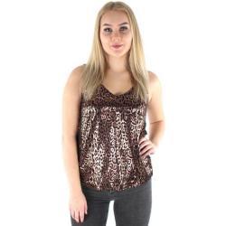 Leopard-mönstrade Bruna Toppar från Vero Moda för Damer
