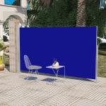 vidaXL Infällbar markis för uteplats 160 x 300 cm blå
