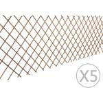 vidaXL Spaljéstaket pil 5 st 180x90 cm
