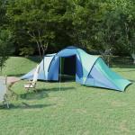 vidaXL Tält för 6 personer blå och grön