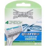 Wilkinson Sword Quattro Titanium Sensitive Razor Blades 8 st Rakblad